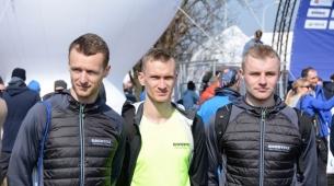 Kamil, Krzysztof i Piotrek