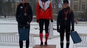 Trzy Najlepsze juniorki na podium