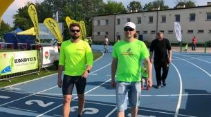 Piotr i Damian przed startem